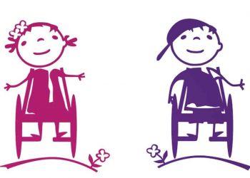 Vinilos niños con discapacidad