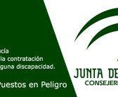 Comunicado – La junta deja en el aire el futuro de 10.600 puestos de trabajos para discapacitados en Andalucía
