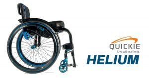Silla de ruedas Quickie Helium
