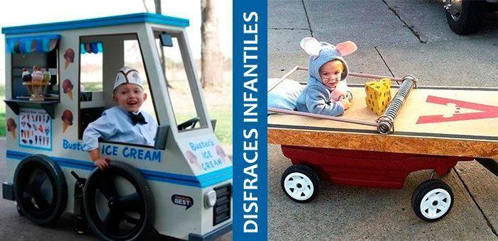 26 Disfraces creativos para niñ@s en silla de ruedas