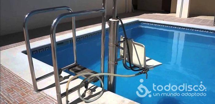 Silla hidraulica piscina todo disca blog sobre for Sillas para piscina