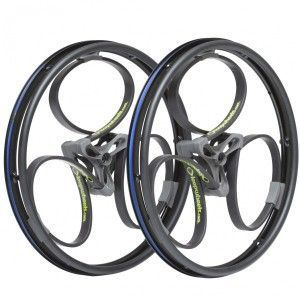 pair-24-or-25-loopwheels-for-wheelchairs-¾-view-green-logos-600x600