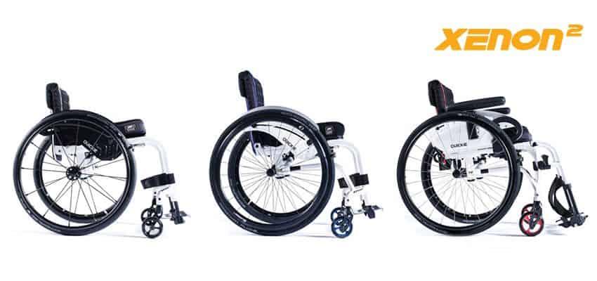 silla de ruedas plegable xenon 2