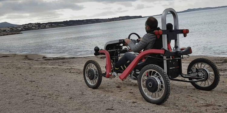 silla a motor