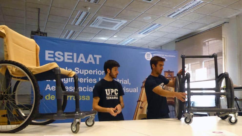 Estudiantes de la upc dise an una silla de ruedas 39 low - Ortopedia low cost ...