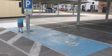 Plaza de aparcamiento PMR