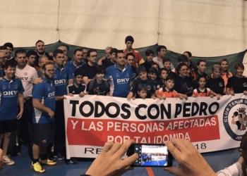 Homenaje del CTM DKV JEREZ a Pedro Fernández por su lucha incansable por la Talidomida.