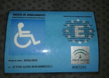 La tarjeta intervenida por la Policía Local de Jerez