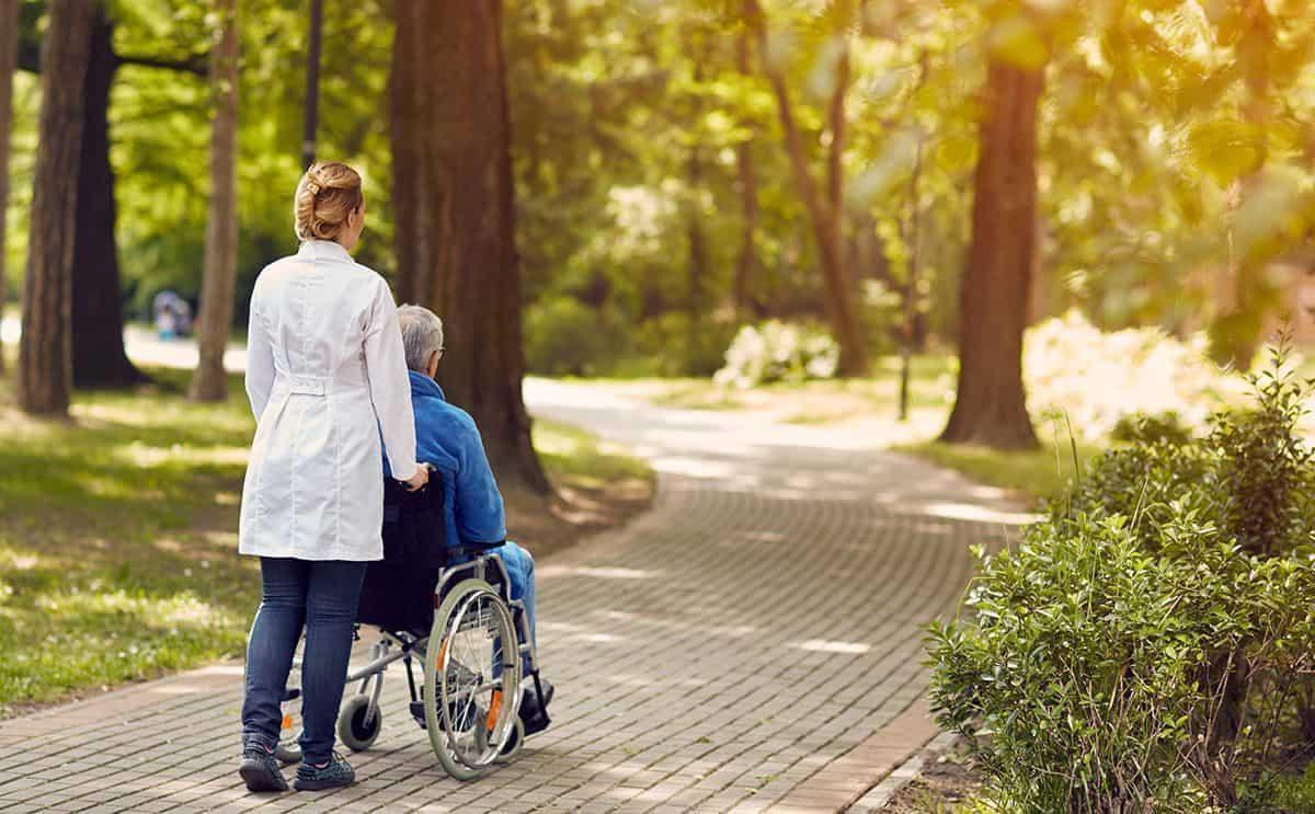 Parque con accesibilidad.
