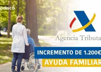 Ayuda económica familia con cónyuge con discapacidad a cargo.