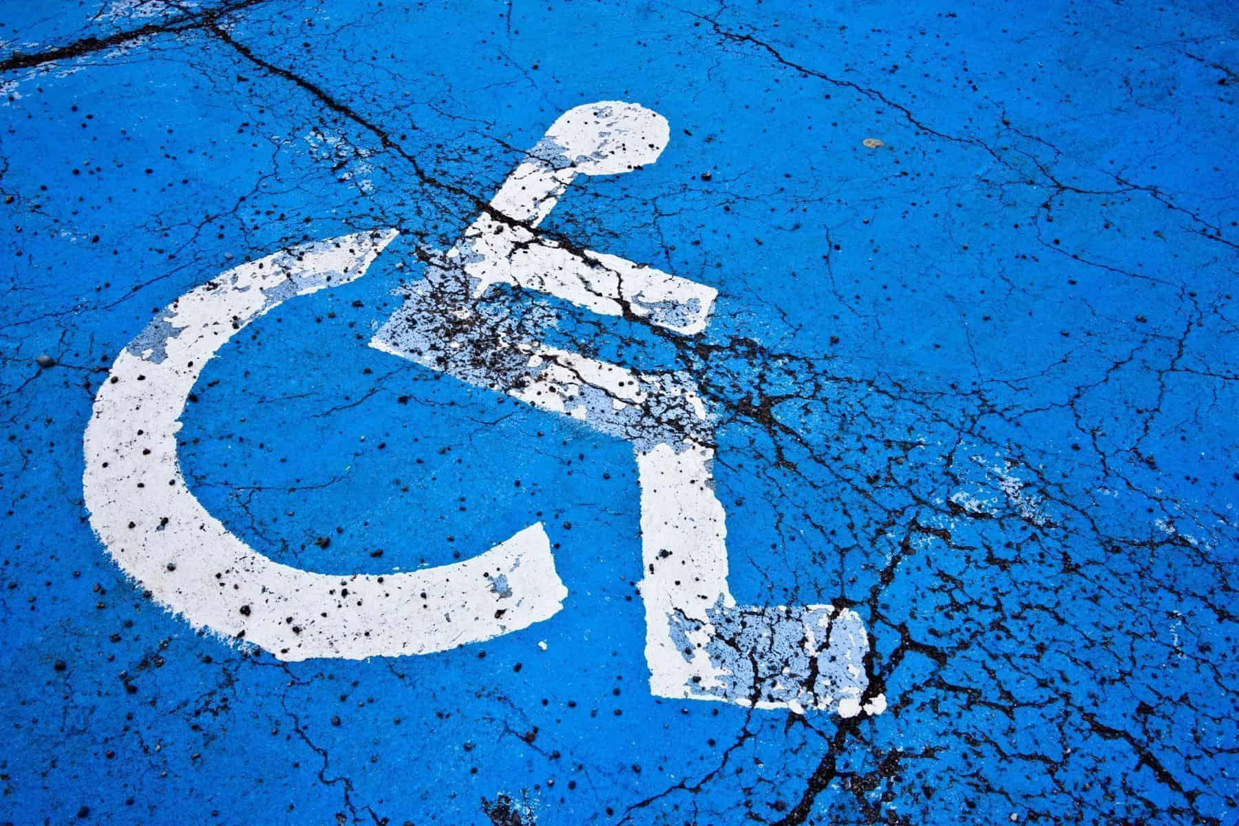 Pictograma silla de ruedas
