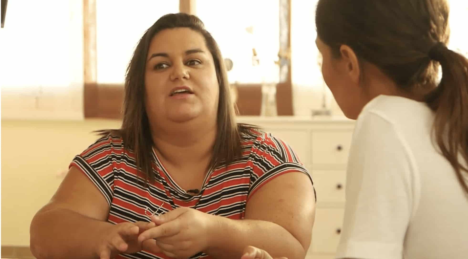 """Lidia Casanueva en el programa """"En el punto de mira"""""""