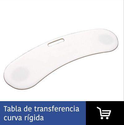 Tabla transferencia curva rígida