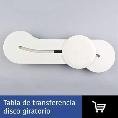tabla transferencia disco giratorio