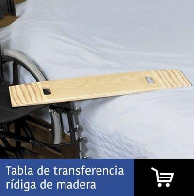 Tabla transferencia rígida madera