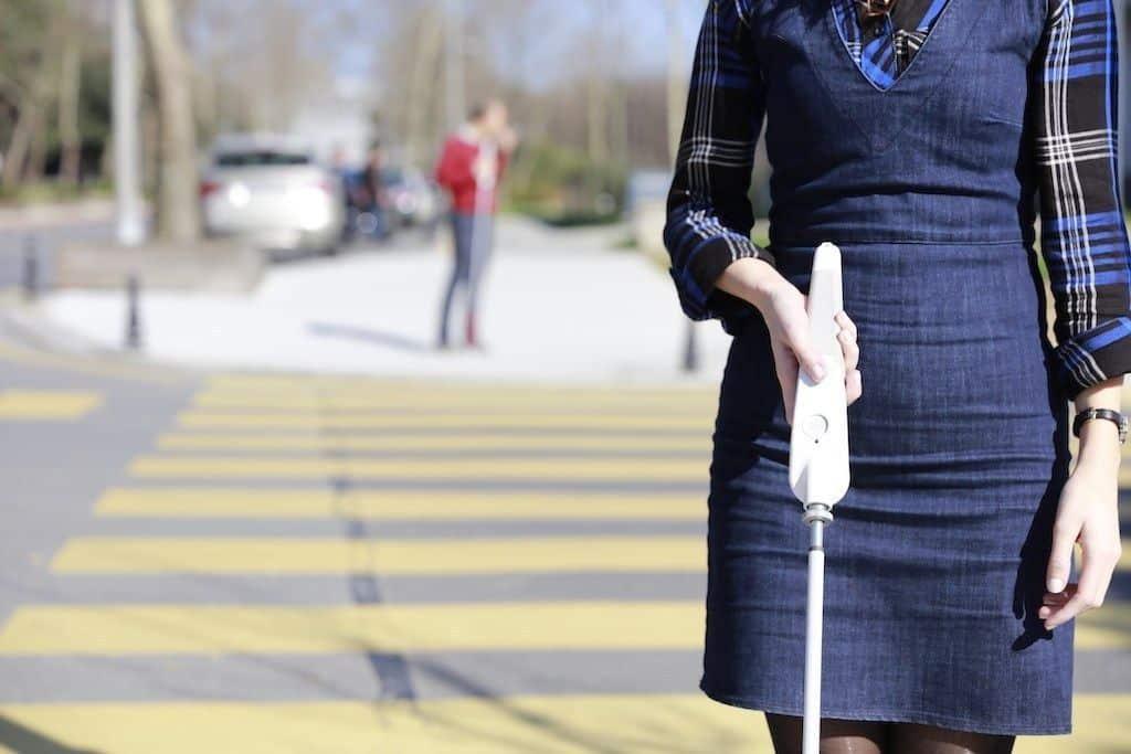 wewalk bastón inteligente
