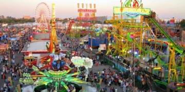 Actual imagen de la Calle Infierno de la Feria de Sevilla. Imagen: Sevilla Secreta