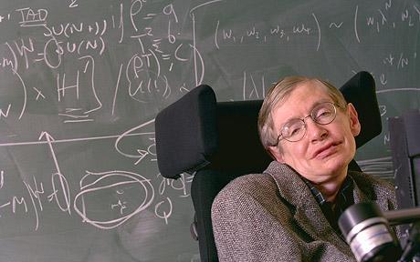 Stephen Hawking página oficial