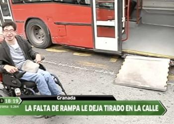 Rampa de autobus averiado - Canalsur