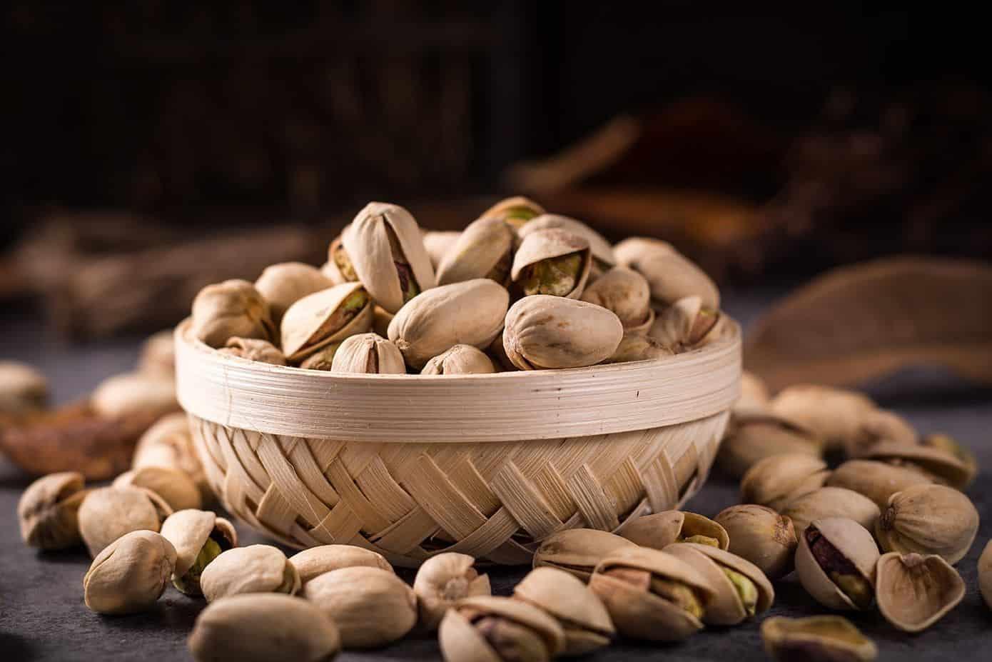 Pistachos beneficiosos para la hipertensión