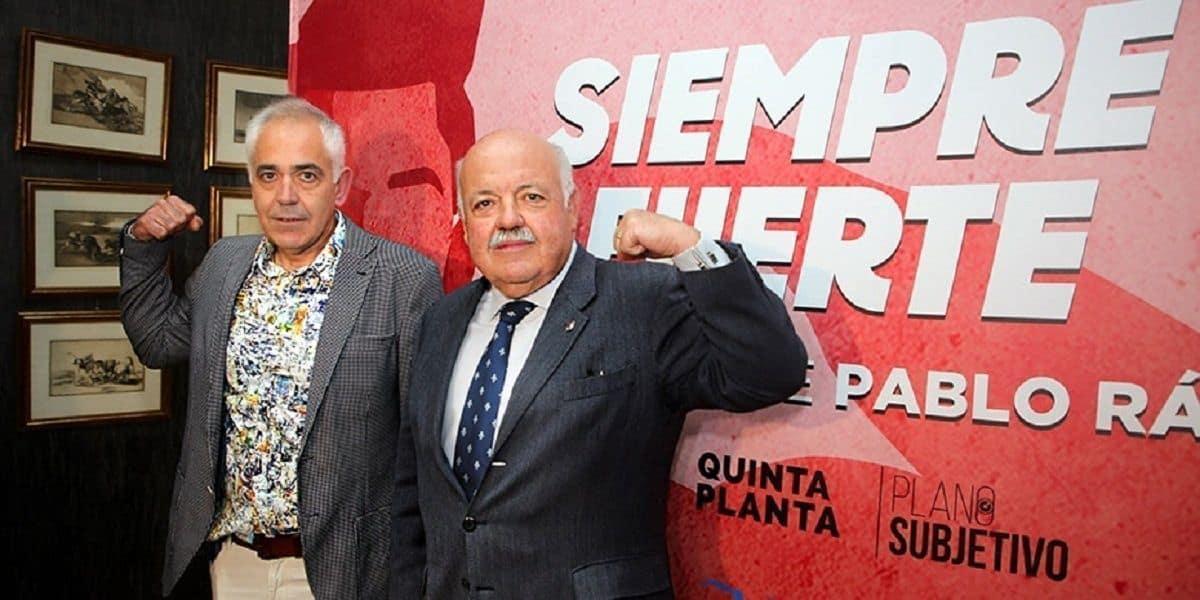 Padre de Pablo Ráez y Consejero de Salud durante la presentación del Documental