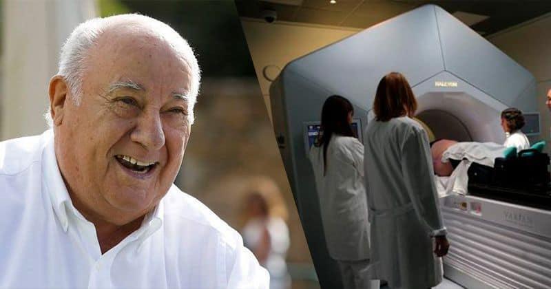 Amancio Ortega y el acelerador de radioterapia