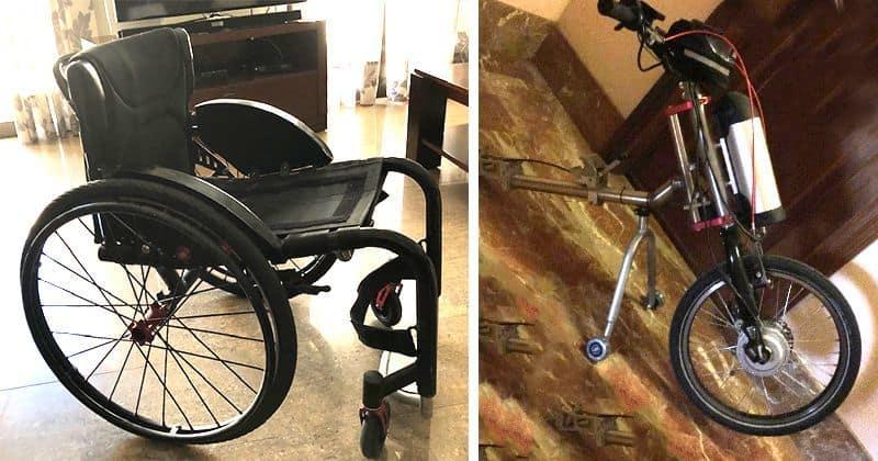 silla de ruedas y handbike