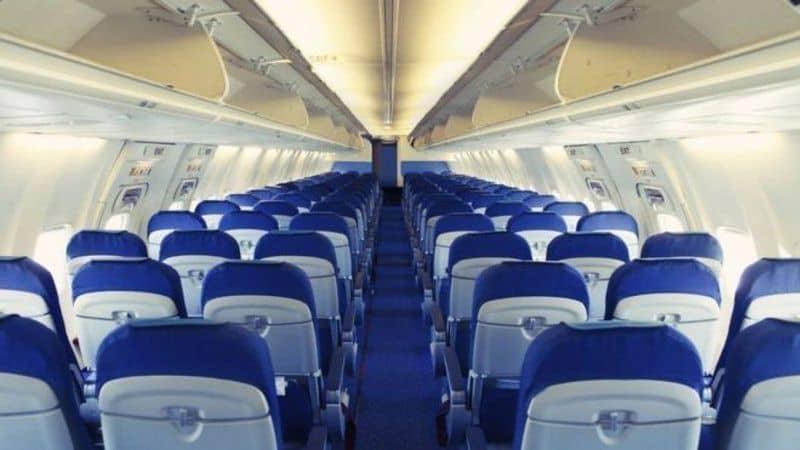 asientos del avión