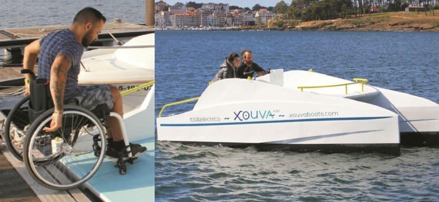Barco eléctrico accesible