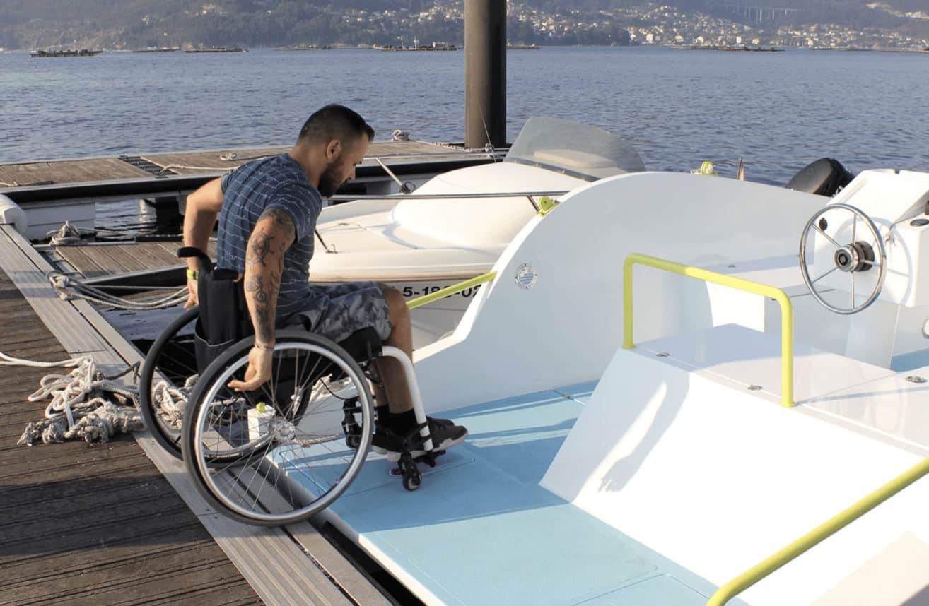 Entrada para silla de ruedas