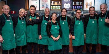 Trabajadores de Starbucks en México
