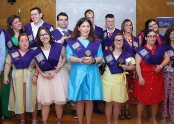 Jóvenes con discapacidad intelectual se gradúan por la Pablo de Olavide