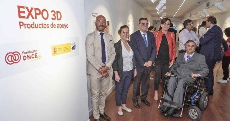 Fundación ONCE presenta una muestra de objetos en 3D para mejorar la vida diaria de personas con discapacidad