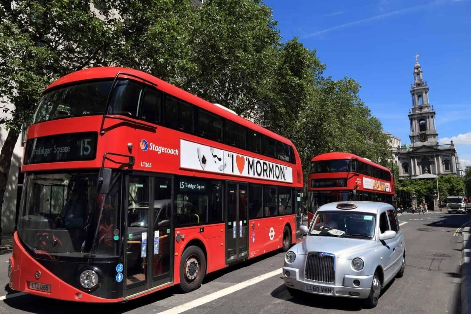 Transporte adaptado en Londres.