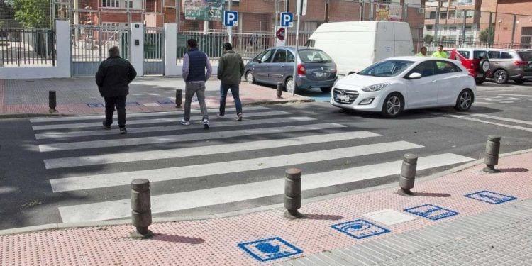 Paso de peatones para personas con autismo en Leganés | Foto de Ayuntamiento de Leganés