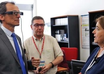 Pedro Duque y Belen Ruiz | Foto de CESyA