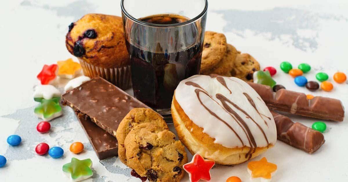 Dulces y bebidas azucaradas