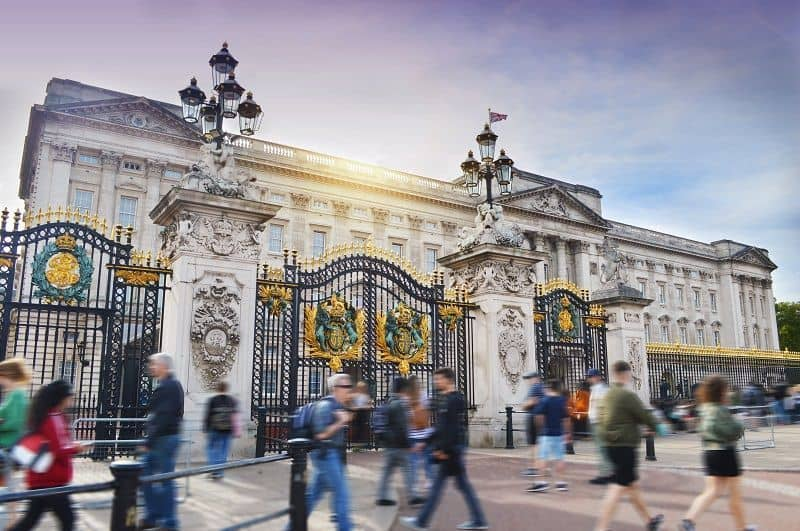 Palacio de Buckingham accesible