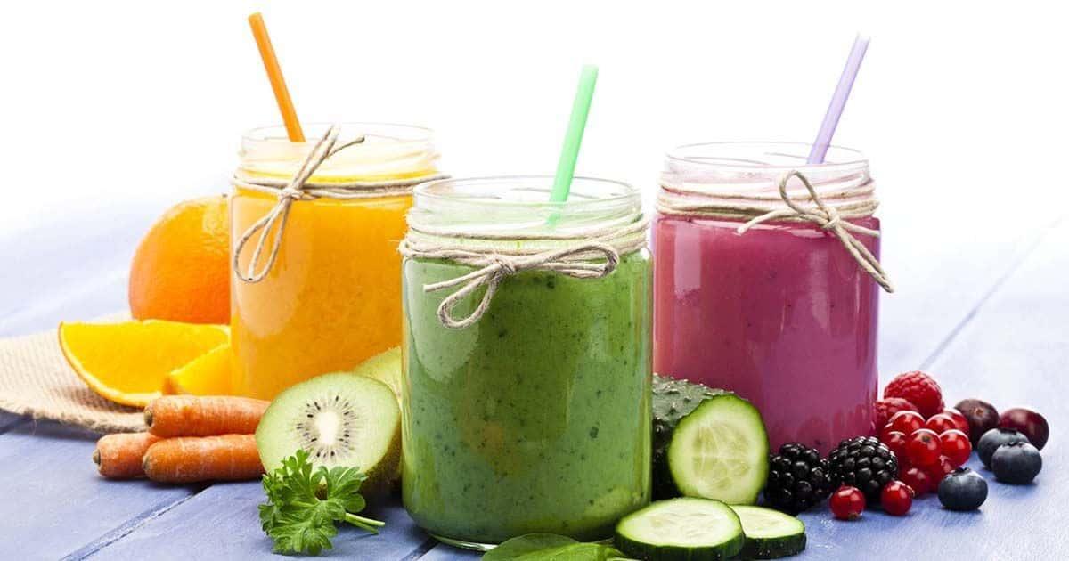 zumo de frutas vitaminas C