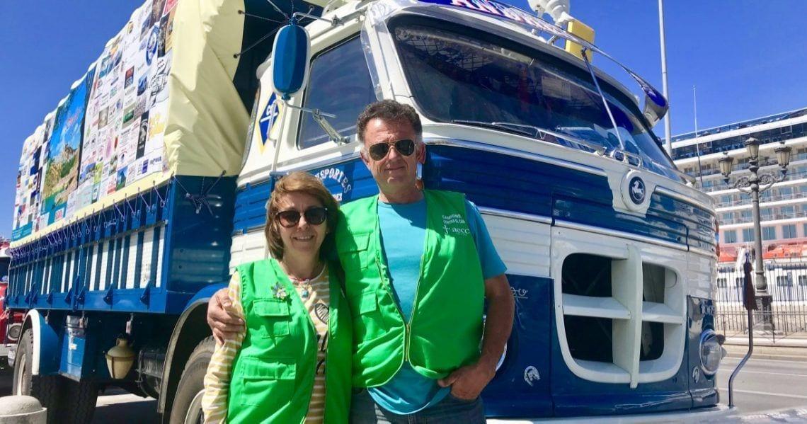 Juan Pérez Luque da la vuelta a España completando el desafío 'Camioneros contra el cáncer'