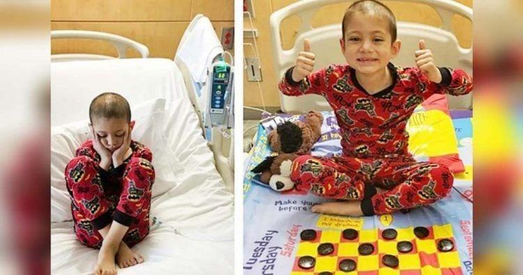 Crean sábanas con juegos de mesas para los hospitales de menores