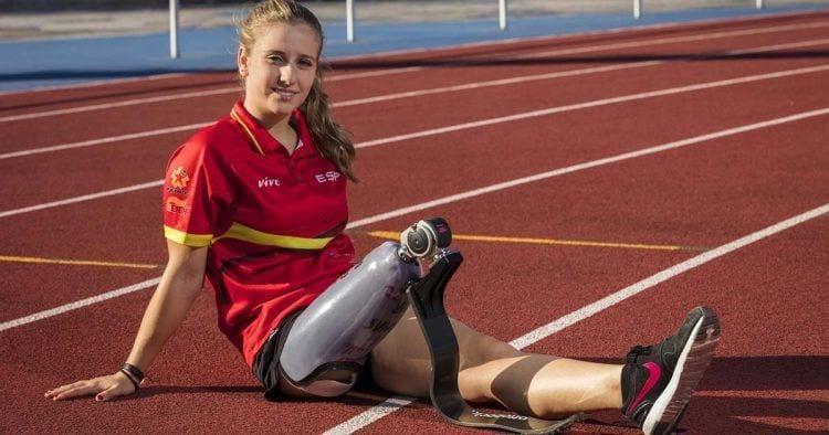 """Desireé Vila: """"Puedes ser una persona totalmente plena e independiente con una prótesis"""""""