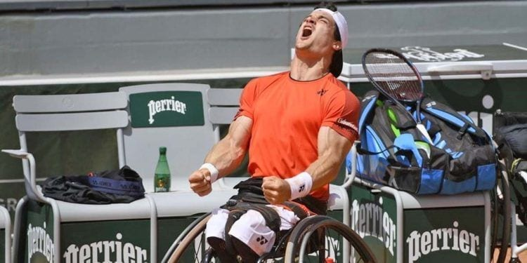 Gustavo Fernández gana Roland Garros adaptado sobre silla de ruedas