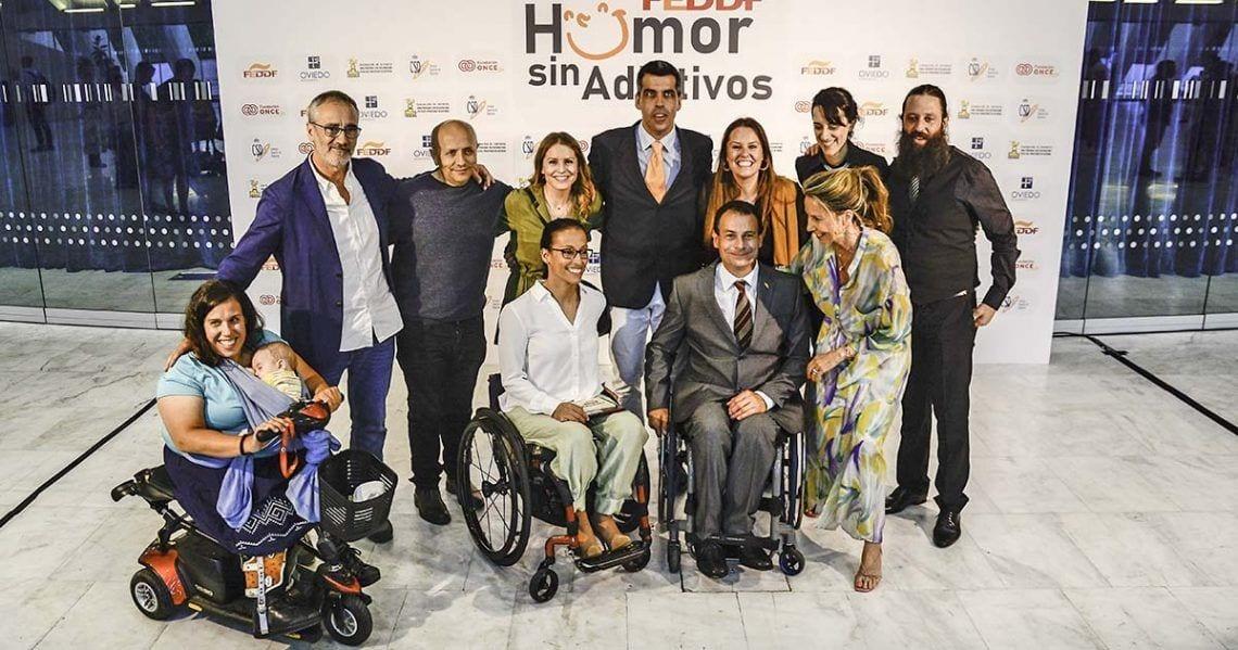 """Éxito en la celebración de la jornada """"Humor sin Adjetivos""""   Foto de FEDDF"""