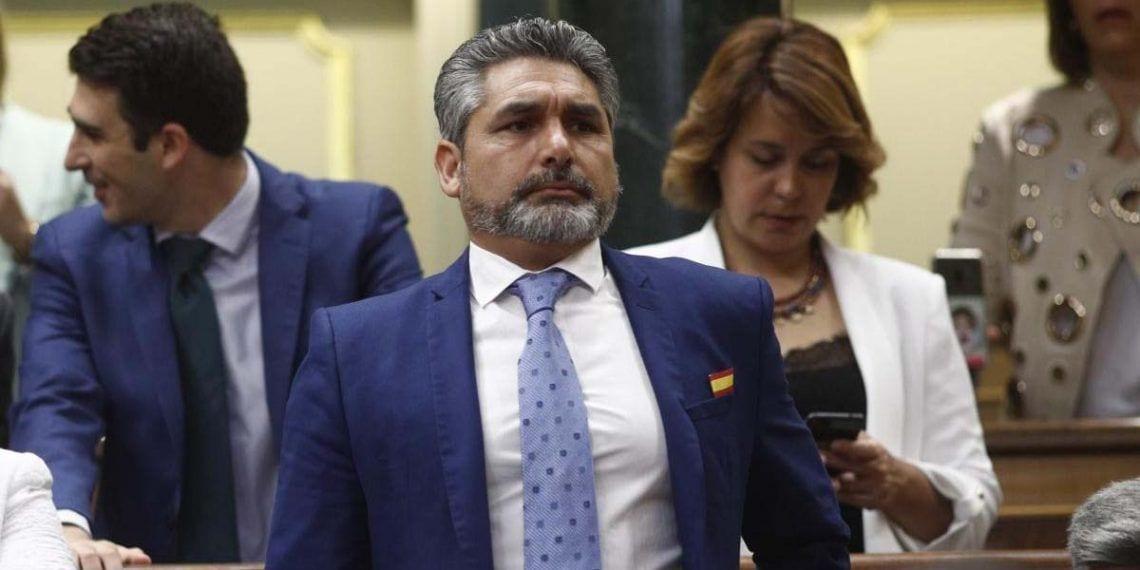 Juan José Cortés percibe una pensión por incapacidad permanente absoluta que, en principio, es incompatible con el sueldo de diputado