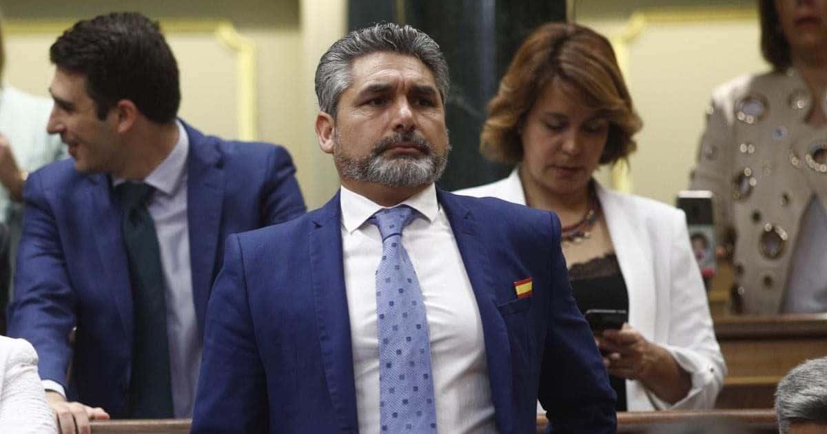 40c1bf14356 Juan José Cortés percibe una pensión por incapacidad permanente absoluta  que, en principio, es incompatible con el sueldo de diputado