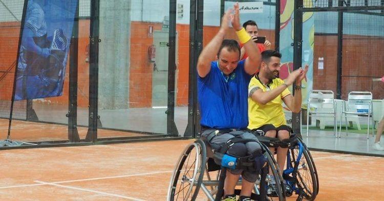 El IV Campeonato de España de pádel en silla de ruedas consolida a Edorta de Anta y Topher Triviño como la pareja más regular del año