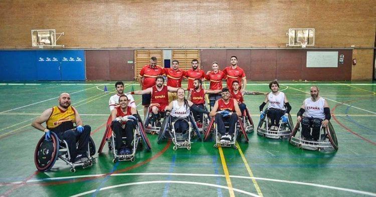 La Selección Española de Rugby en Silla de Ruedas debuta en un torneo internacional | FEDDF