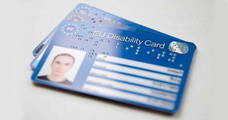 Lanzan las Tarjetas Europeas de Discapacidad de la Unión Europea