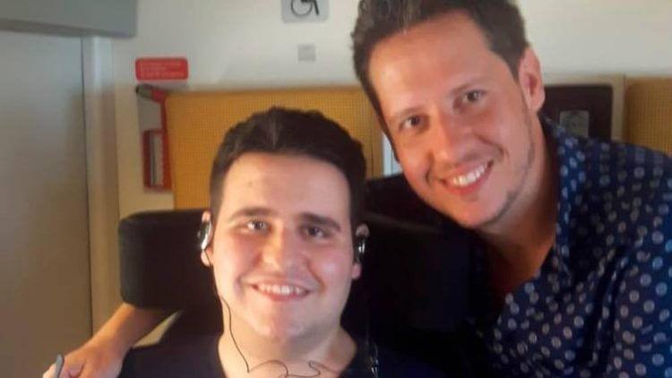 Martín y su hermano